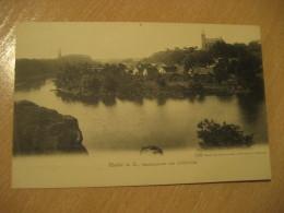 HALLE A. S. Saalepartie Bei Crollwitz Post Card Saxony Anhalt Germany - Halle (Saale)