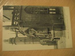 HALLE A. S. Der Roland Am Roten Turm Post Card Saxony Anhalt Germany - Halle (Saale)