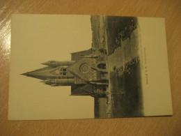 HALLE A. S. Pauluskirche Post Card Saxony Anhalt Germany - Halle (Saale)