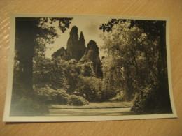 HAMBURG Seitenblick Hochgebirge Hagenbecks Tierpark Stellingen Zoo Post Card Germany - Stellingen