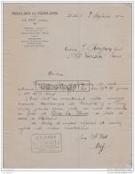 38 2249 LE PIN ISERE 1930 MOULIN DE VERS ARS Ets BRET Gare VIRIEU SUR BOURBRE CHABONS CHARAVINES A CHAGNON De ST DESIRE - 1900 – 1949