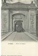 54, Meurthe Et Moselle, LONGWY, Porte De France, Tramway, Scan Recto-Verso - Longwy