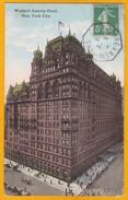 1913 - CP De  New York, USA Vers Le Havre, France Par Ligne Maritime Le Havre New York B Via Paris Etranger - Postmark Collection (Covers)