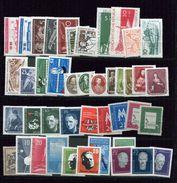 DDR **,* Année 1957 - Collezioni (senza Album)