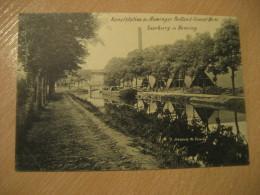 HEMING Saarburg Kanalstation Heminger Portland Cement Werk Post Card Rhineland Palatinate Trier Germany Luxembourg - Saarburg