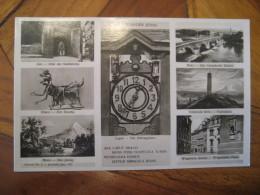 JENA Caput Schnapphaus Clock Post Card Thuringia Germany - Jena