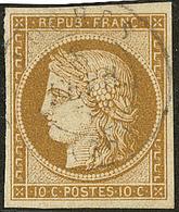 No 1, Obl Cad 15, Jolie Pièce. - TB - 1849-1850 Ceres