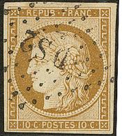"""No 1, Obl Losange """"DS 2"""". - TB - 1849-1850 Ceres"""