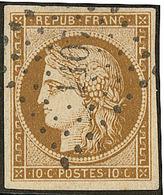 No 1a, Obl Pc 1107, Jolie Pièce. - TB - 1849-1850 Ceres