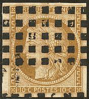 No 1a, Obl Gros Points. - TB - 1849-1850 Ceres