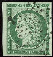 No 2, Obl étoile, Réparé, Nuance Foncée, B D'aspect - 1849-1850 Ceres