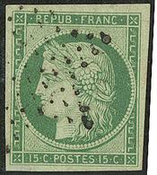 No 2b, Obl étoile, Jolie Pièce. - TB. - R - 1849-1850 Ceres
