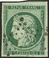 No 2c, Un Voisin, Obl étoile, Jolie Pièce. - TB. - R - 1849-1850 Ceres