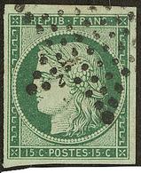 No 2c, Obl étoile, Jolie Pièce. - TB. - R - 1849-1850 Ceres