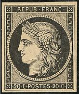** No 3, Noir Sur Jaune, Très Frais. - TB - 1849-1850 Ceres