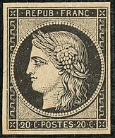 ** No 3, Très Frais. - TB - 1849-1850 Ceres