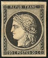 * No 3, Un Voisin, Très Frais. - TB - 1849-1850 Ceres
