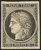 * No 3a, Noir Sur Blanc. - TB - 1849-1850 Ceres