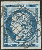 No 4, Obl Grille, Ex Choisi. - TB - 1849-1850 Ceres