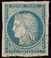 No 4a, Bleu Clair, Ex Choisi. - TB - 1849-1850 Ceres