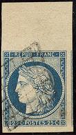 No 4c, Grand Bdf + Un Voisin, Jolie Pièce. - TB - 1849-1850 Ceres