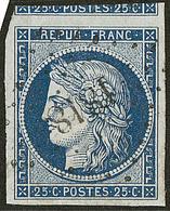 No 4c, Obl Pc 1818, Un Voisin, Ex Choisi. - TB - 1849-1850 Ceres