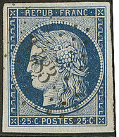 No 4c, Obl Pc 1383, Ex Choisi. - TB - 1849-1850 Ceres