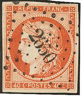No 5, Obl Pc 2650. - TB - 1849-1850 Ceres