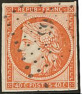 No 5, Obl Pc 65. - TB - 1849-1850 Ceres