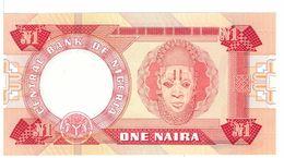 NIGERIA  - 1 NAIRA  ONE NAIRA - FIOR DI STAMPA - CARTAMONETA - PAPER MONEY - Nigeria