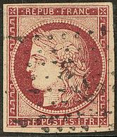 """No 6, Obl Losange """"DS 2"""". - TB - 1849-1850 Ceres"""