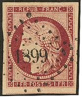 No 6b, Obl Pc 1899, Un Voisin, Jolie Pièce. - TB. - R - 1849-1850 Ceres