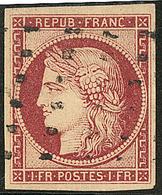 No 6c, Obl Gros Points, Jolie Pièce. - TB. - R - 1849-1850 Ceres