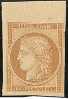 ** Réimpression. No 1e, Bdf + Un Voisin, Très Frais. - TB - 1849-1850 Ceres