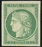 * Réimpression. No 2f, Très Frais. - TB - 1849-1850 Ceres