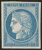 * Réimpression. No 4f, Paille Au Recto Mais TB - 1849-1850 Ceres