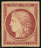 * Réimpression. No 6g, Très Frais. - TB - 1849-1850 Ceres