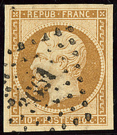 No 9, Obl Pc 3661. - TB - 1852 Louis-Napoleon