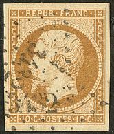 No 9, Obl Pc. - TB - 1852 Louis-Napoleon