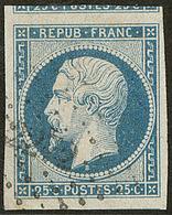 No 10, Obl Pc, Deux Voisins, Ex Choisi. - TB - 1852 Louis-Napoleon