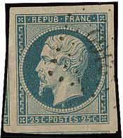 No 10, Deux Voisins, Obl Pc 2169, Ex Choisi. - TB - 1852 Louis-Napoleon