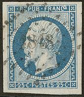 """No 10, Avec Variété D'impression """"FRANCo"""", Ex Choisi. - TB - 1852 Louis-Napoleon"""
