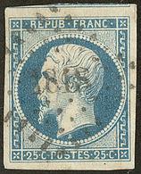 No 10, Obl Pc 1818, Un Voisin, Ex Choisi. - TB - 1852 Louis-Napoleon