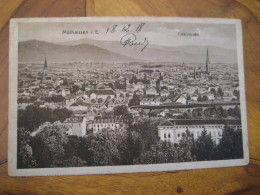 MULHAUSEN Mülhausen I. E. Totalansicht Post Card Thuringia Unstrut Hainich Kreis Germany - Muehlhausen
