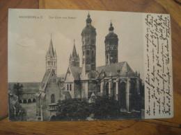 NAUMBURG Der Dom Von Osten Post Card Saxony Anhalt Saale Burgenlandkreis Germany - Naumburg (Saale)