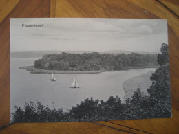 PFAUENINSEL Sailing Island Post Card Peacock Island River Havel Berlin Wannsee Potsdam Brandenburg Germany - Deutschland