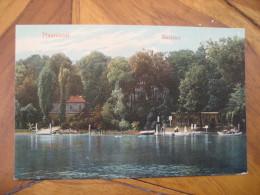 PFAUENINSEL Uberfahrt Island Post Card Peacock Island River Havel Berlin Wannsee Potsdam Brandenburg Germany - Deutschland