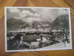 PFRONTEN Allgau Breitenberg Kienberg Mountains Cancel Post Card Bavaria Schwaben Ostallgau Germany - Pfronten