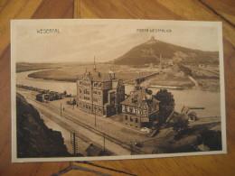 PORTA WESTFALICA Wesertal Post Card North Rhine Westphalia Detmold Minden Lubbecke Germany - Porta Westfalica