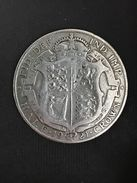 HALF CROWN - 1/2 Crown - 1921 - Georgius V -  SILVER ARGENTO - 1902-1971 : Monete Post-Vittoriane
